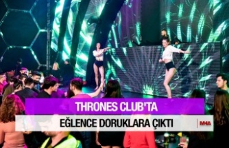 DJ'LER THRONES CLUB'I COŞTURDU